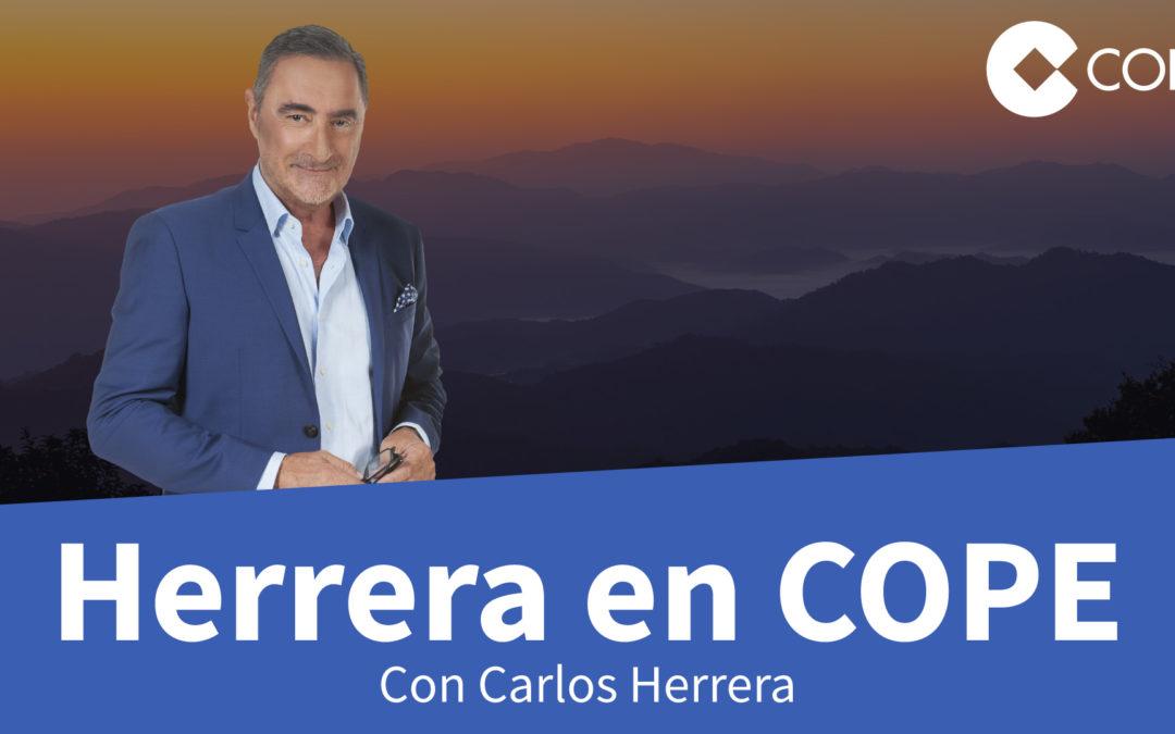 """Carlos Herrera rememora la entrada de la Esperanza de Triana bajo sones de """"Siempre la Esperanza"""""""